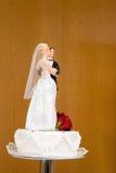Gâteau de mariage. Photo stock