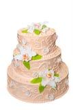 Gâteau de mariage. Image libre de droits