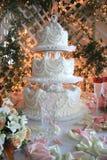 Gâteau de mariage Images stock