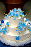 Gâteau de mariage Photo stock
