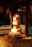 Gâteau de mariage chinois Photos libres de droits
