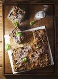 Gâteau de Matcha Image libre de droits
