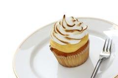 Gâteau de meringue de citron image libre de droits