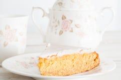 Gâteau de miel cuit au four par maison Photos stock