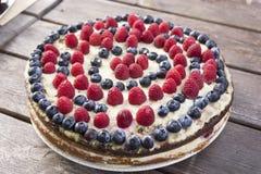 Gâteau de miel fait maison Photos libres de droits
