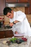 Gâteau de mousse Photos stock