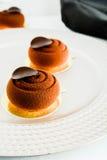 Gâteau de mousse Image stock