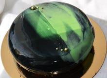 Gâteau de mousse Photographie stock libre de droits