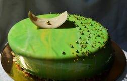 Gâteau de mousse Photos libres de droits