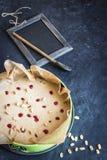 Gâteau de mousse Copyspace Image stock