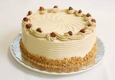 Gâteau de mousse de noisette Photographie stock libre de droits