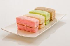 Gâteau de mousseline de soie Photo stock