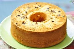 Gâteau de mousseline de soie Photographie stock libre de droits