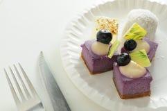 gâteau de myrtille Images libres de droits