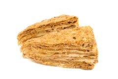 Gâteau de napoléon Images libres de droits