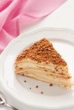 Gâteau de Napoleon Photo stock
