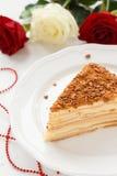 Gâteau de Napoleon Image stock