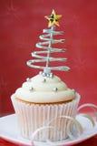 Gâteau de Noël Photographie stock libre de droits