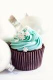 Gâteau de Noël Images stock