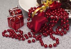 Gâteau de Noël Photo stock