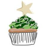 Gâteau de Noël illustration libre de droits