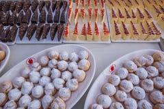 Gâteau 2012 de Noël d'endroit de Hyatt d'étoile de LONGHU Images libres de droits