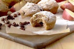 Gâteau de Noël de tradition avec des raisins secs, fruits secs photographie stock