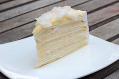 Gâteau de noix de coco Image libre de droits
