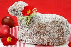 Gâteau de noix de coco d'agneau Images libres de droits