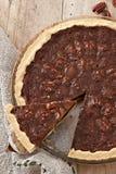Gâteau de noix de pécan Photos libres de droits