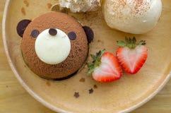 Gâteau de nounours Images stock