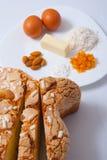 Gâteau de Pâques Photos libres de droits