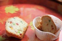 Gâteau de Pâques avec le fruit glacé Photo libre de droits