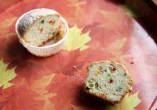 Gâteau de Pâques avec le fruit glacé Image libre de droits