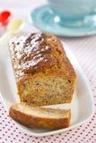 Gâteau de pain de banane Photographie stock libre de droits