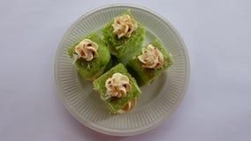 Gâteau de Pandan Image stock