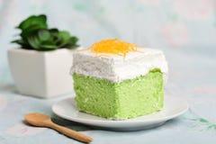 Gâteau de Pandan Images libres de droits