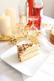 Gâteau de partie Photographie stock libre de droits