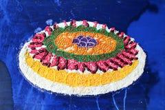 Gâteau de peinture à l'huile Image libre de droits