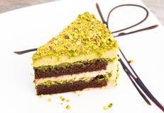 Gâteau de pistache image stock