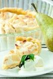 Gâteau de poire Photo stock