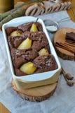 Gâteau de poires Images stock