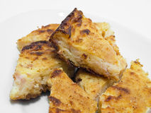 Gâteau de pommes de terre. Images libres de droits