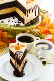 Gâteau de potiron Photo stock