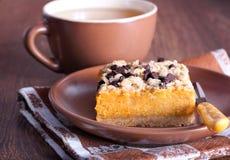 Gâteau de potiron image stock