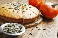 Gâteau de potiron Photos stock