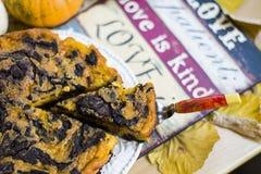 Gâteau de potiron Images stock