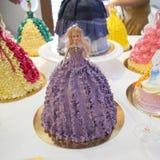Gâteau de princesse Photo stock