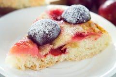 Gâteau de prune Photos stock