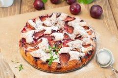 Gâteau de prune Photo libre de droits